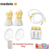 Medela Freestyle Flex Pump Accessories Kit with Bottles (4 Sizes)