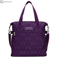 Sarah Wells Lizzy Breast Pump Bag, Damask