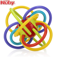 Nuby Lots of Loops Teether, 1 Pack (3M+) NB6861