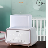 Bololo Milk Warmer Bottle Sterilizer Automatic Multi-function Intelligent Thermostat with LED Light
