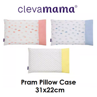 Clevamama ClevaFoam Pram Pillow Case (3 Colours)