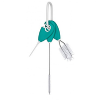 OXO Tot - Straw & Sippy Cup Top Cleaning Set, Teal