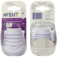 Philips Avent - BPA Free Bottle Sealing Discs, 6 Count