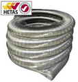 Flexible flue liner for use with solid fuel appliances 6 Inch Diameter 10 Year Warranty - Pot Hanging Cowl