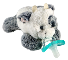 Razbaby RaZbuddy Paci Holder - JollyPop Pacifier - Coby Cow