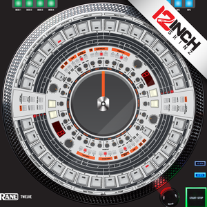 Control Disc System (SINGLE) Rane Twelve - Roland 909