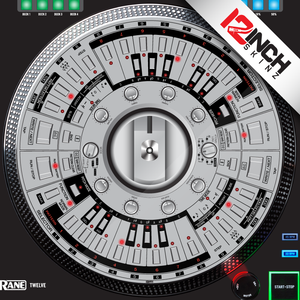Control Disc System (SINGLE) Rane Twelve - Roland 303