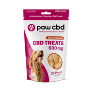Dog Treats 600 mg - Baked Cheese New Product
