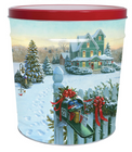 Christmas Mail Tin - 3.5 Gallon