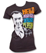 Big Bang Theory Insufficiently Black Juniors Graphic Tee Shirt