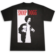 Snoop Dogg West Side Scarface Parody Black Graphic Tee Shirt