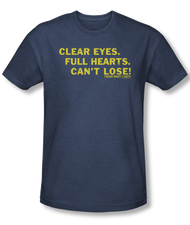Friday Night Lights Clear Eyes Vintage Heather Mens Tee Shirt