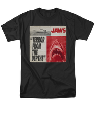 Mens Jaws Terror Tee Shirt