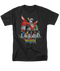 Mens Voltron Lions Tee Shirt in Black