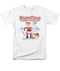 Mens Santa Claus is Coming To Town Animal Friends Tee Shirt