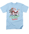 Mens Santa Claus is Coming To Town From Kringle to Claus Tee Shirt