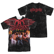 Mens Aerosmith Stage Sublimation Tee Shirt