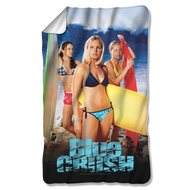 Blue Crush Poster Fleece Blanket