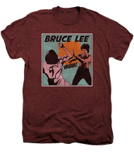 Mens Bruce Lee Comic Panel Premium Tee Shirt