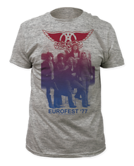 Mens Aerosmith Eurofest 77 Tee Shirt