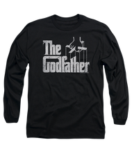 Mens The Godfather Logo Long Sleeve Tee Shirt