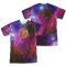 Mens Justice League The Flash Galaxy  Sublimation Tee Shirt