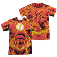 Mens The Flash Bolt  Sublimation Tee Shirt