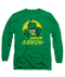 Mens The Green Arrow Archer Circle Long Sleeve Tee Shirt