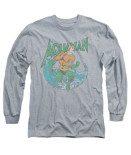 Mens Aquaman Marco Long Sleeve Tee Shirt