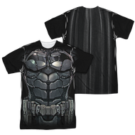 Mens Batman Arkham Knight Uniform Sublimation Tee Shirt