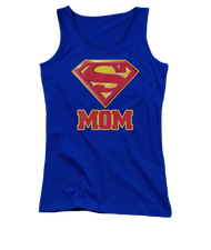 Superman Super Mom Juniors Tank Top