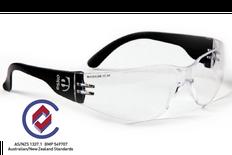 Magnum Medium Impact Anti Scratch Safety Glasses, Clear