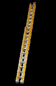 Pro Series Heavy Duty Industrial Fibreglass Extension Ladder