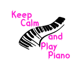 Keep Calm and Play Piano