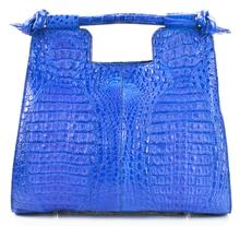 Resort Bag - Caiman Hornback in Matte Waxy Blue