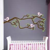 Whimsical Branch Wall Decal