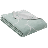 Fussenegger Blanket-Throw / Bamboo Circles jade