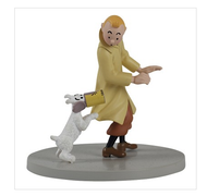 Tintin Figure Cube - Crab Tin