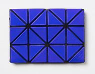 Issey Miyake Bao Bao Card Case/Wallet blue