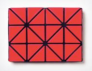 Issey Miyake Bao Bao Card Case/Wallet red