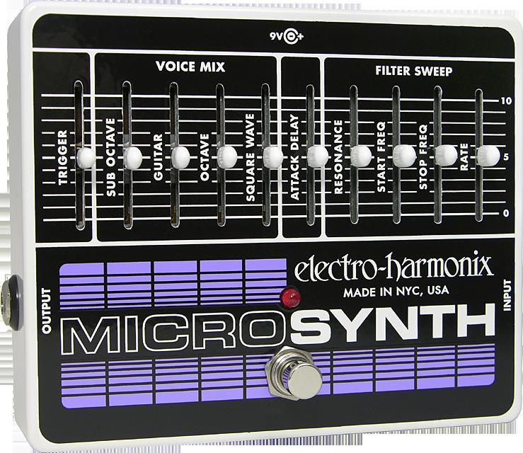 Electro-Harmonix Micro Synthesizer Analog Guitar Micro Synth