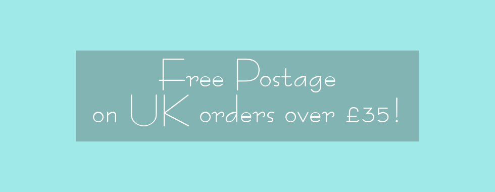 Free Postage on UK orders over £35