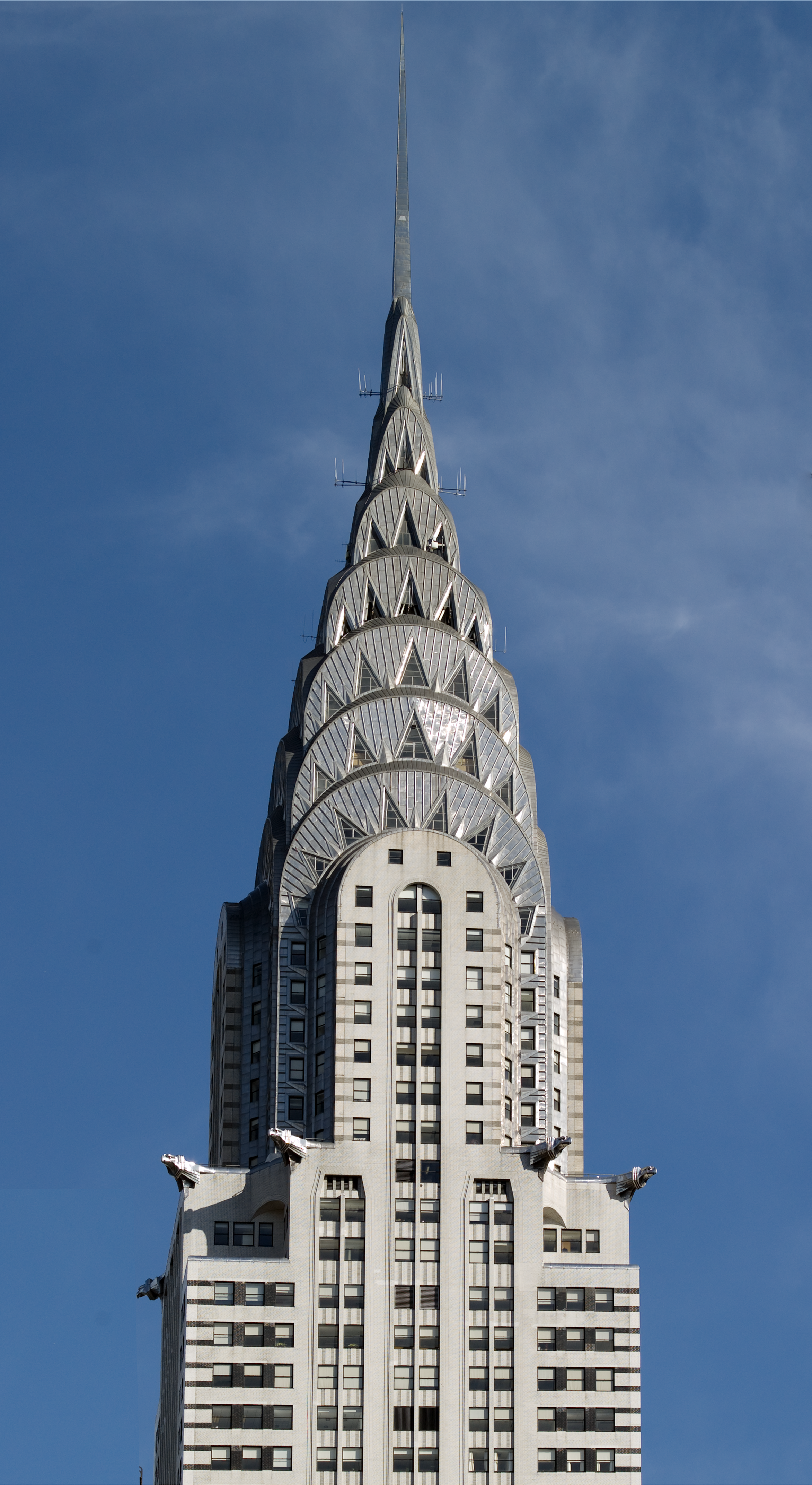 The Chrysler Building Spire in Manhattan - Art Deco