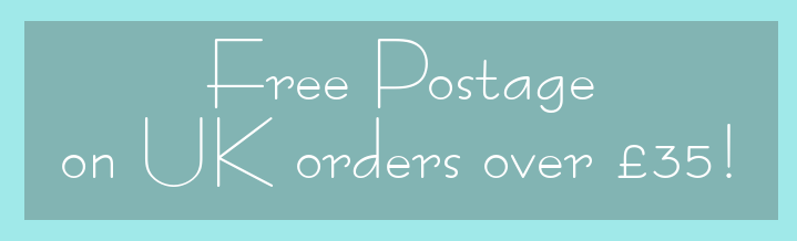 Free First Class UK postage on orders over £35