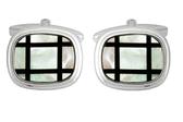MOP/Onyx cufflinks