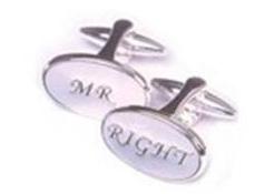 Mr Right Cufflinks