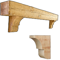 Fireplace Mantels and Corbels