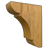 Attractive Wooden Corbels