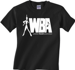 Western Band Association - WBA -  Logo Black T-Shirt