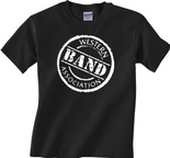 Western Band Association - WBA -  Circle Black T-Shirt